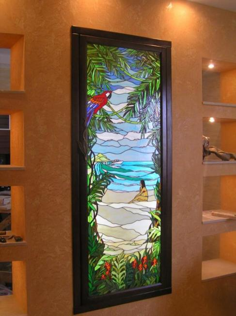 25 Modern Ideas To Use Stained Glass Designs For Home