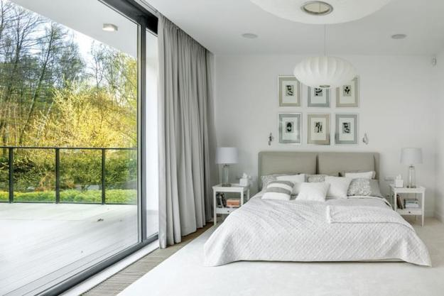 Gray Color Combinations And Accent Hues For Modern Bedroom