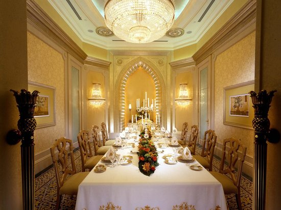 Palace Suite Of Emirates Palace Abu Dhabi Is The Best