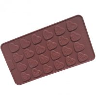 Hearts Silicone Mould Tray LMH044