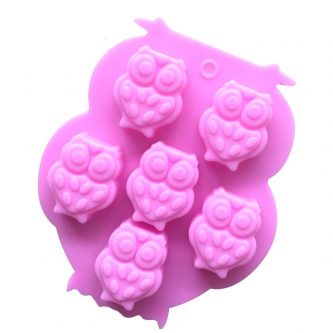 Owls Silicone Mould Tray LMH051