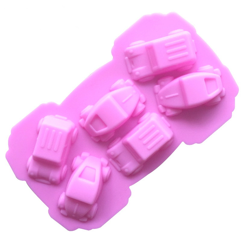 Little Cars Silicone Mould Tray LMH052