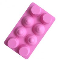 Muffin Cupcake Silicone Mould Tray LMH065