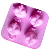 Cartoon Heads Silicone Mould Tray LMH067