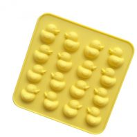 16 Cavities Ducks Silicone Mould Tray LMH077
