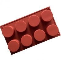 8 Cavities Cups Silicone Mould Tray LMH138