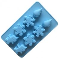 Snowflower Raindrop Silicone Mould Tray LMH163