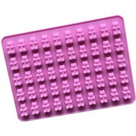 50 Cavities Little Bears Silicone Mould Tray LMH181