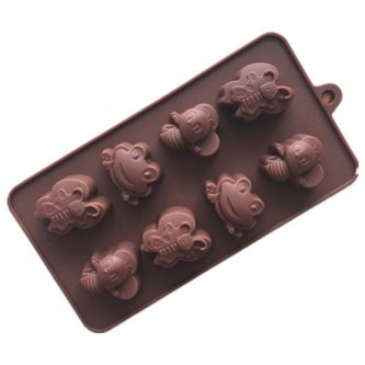 Butterfly Frogs Silicone Mould Tray LMH673
