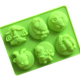 Multi Animals Silicone Mould Tray LMH702