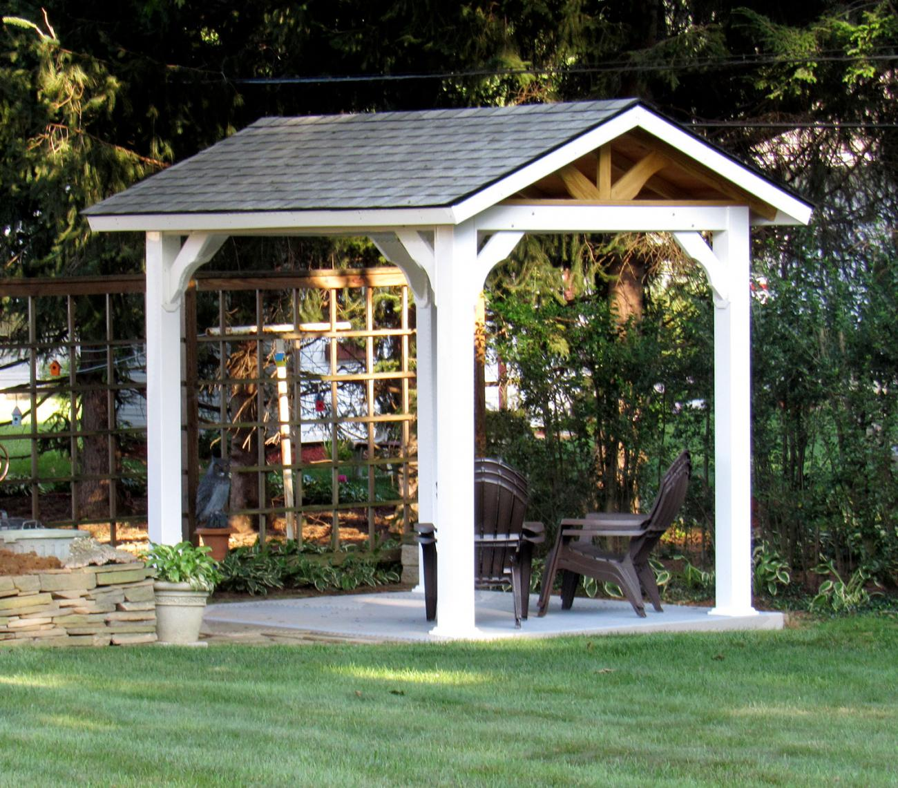 Vinyl Pavilions Lykens Valley Gazebos And Outdoor Living