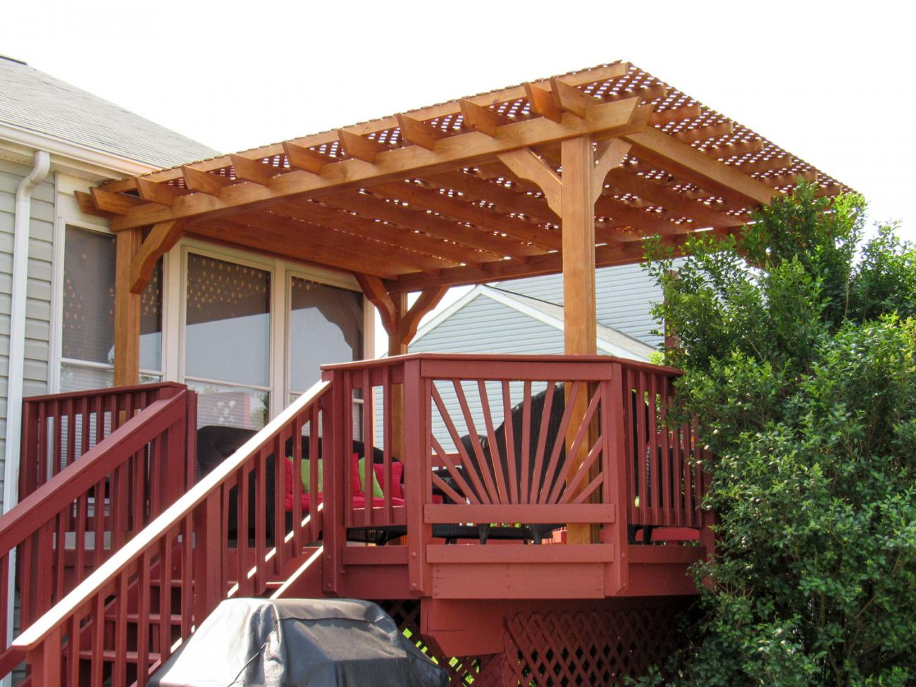 Wood Pergolas Lykens Valley Gazebos And Outdoor Living