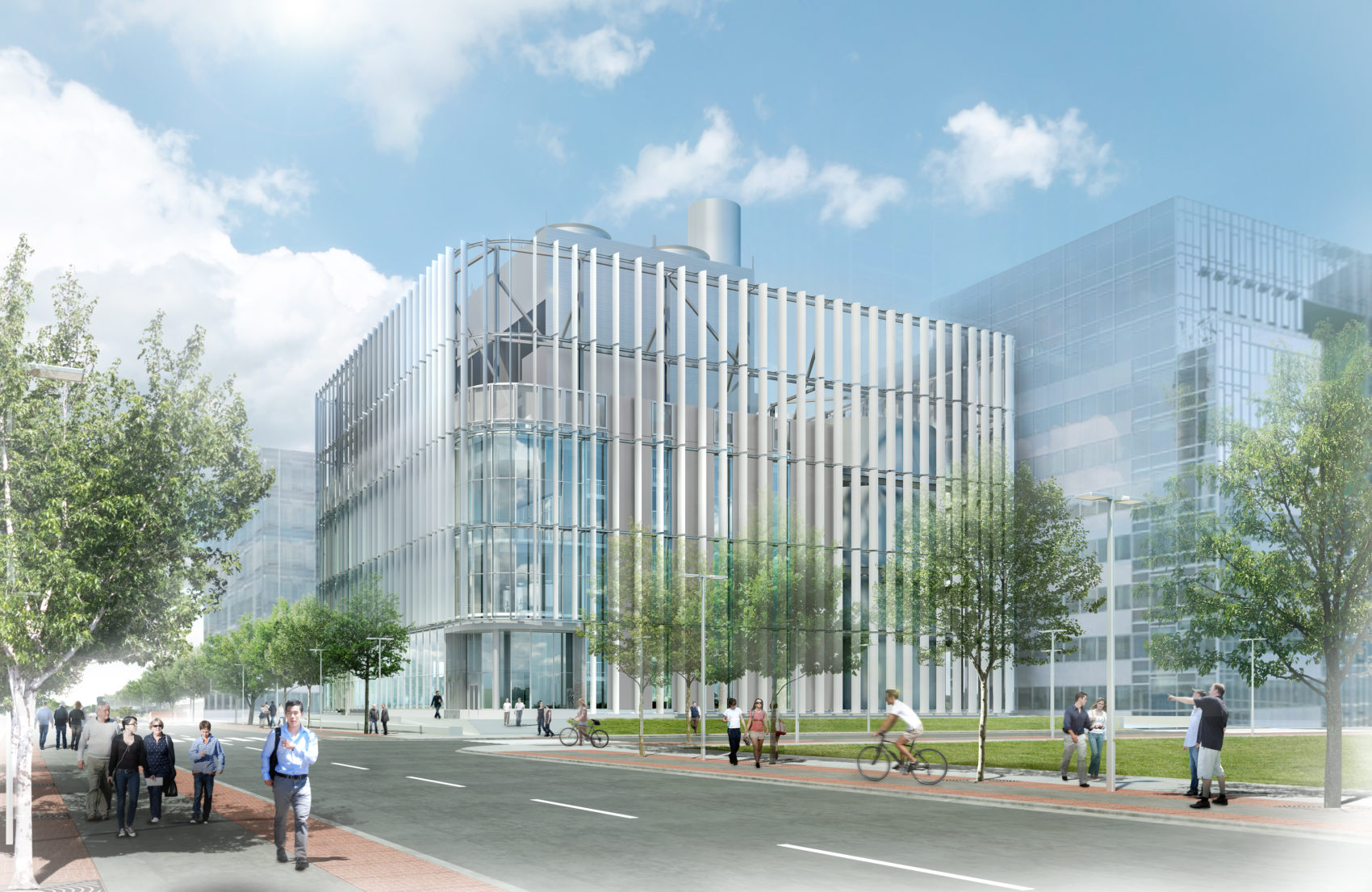 Harvard University District Energy Facility Leers