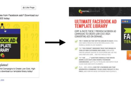 Free Cv Template Facebook Ad Templates Cv Template - Facebook ad template library