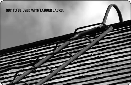 Steel Chicken Ladder Roof Ladder Lynn Scaffolding