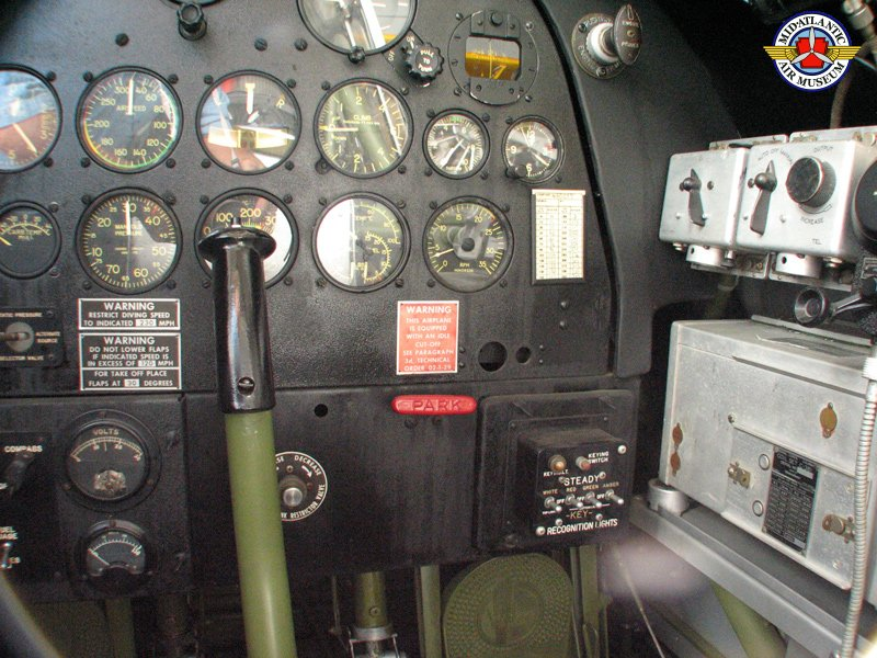Mid Atlantic Air Museum Consolidated Vultee Bt 13a Snv