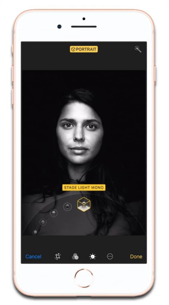 Portrait Lighting Iphone 8 Plus