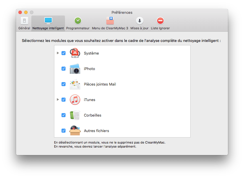 optimiser el capitan nettoyage intelligent