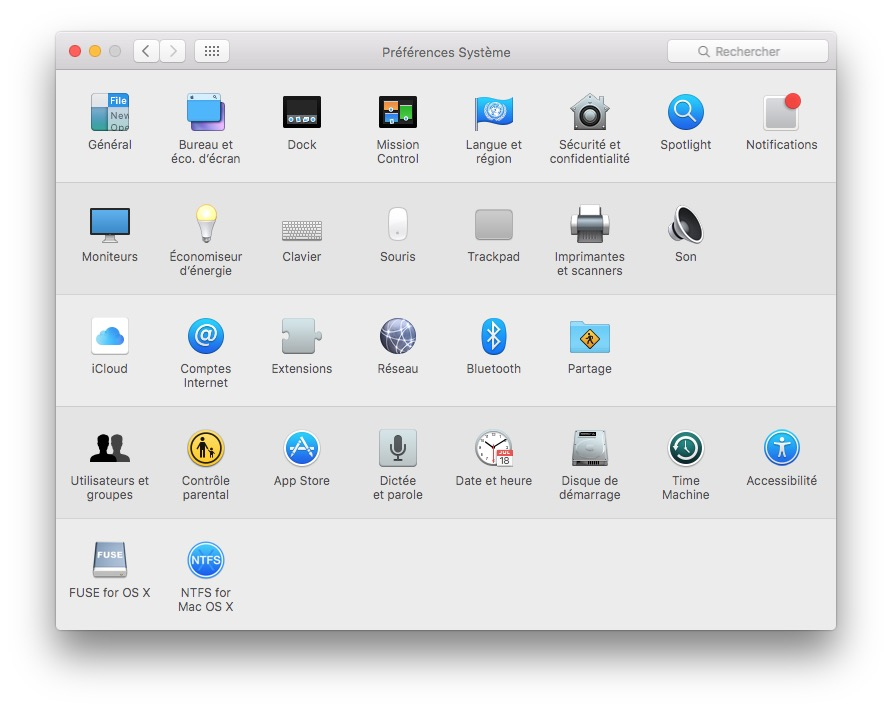 monter une partition Linux sur mac fuse for os x