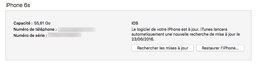 downgrade ios 10 restaurer iphone