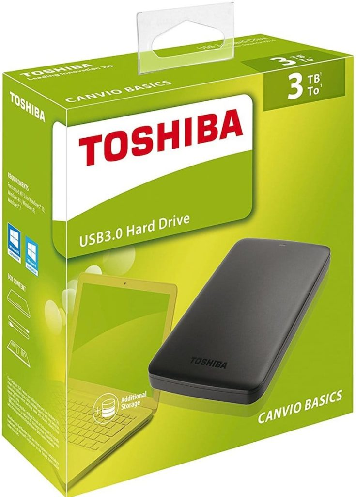 sauvegarder son mac avec time machine Toshiba Canvio 2 To