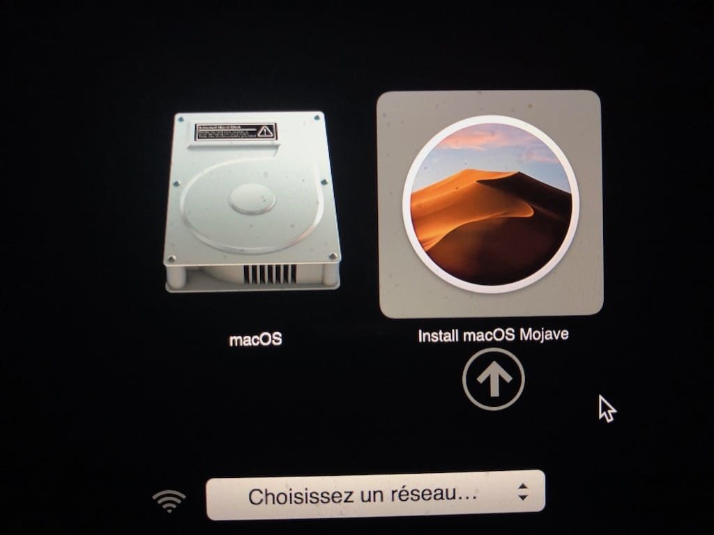 Installation propre macOS Mojave comment faire