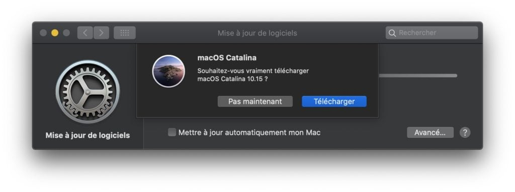 macos catalina telecharger