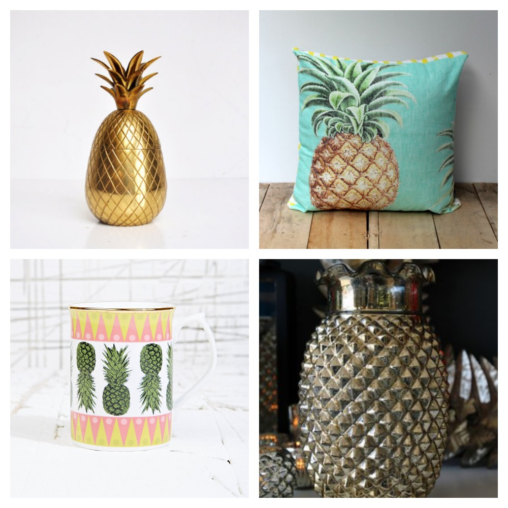 Trend  Pineapples   Mad About The House pineapples