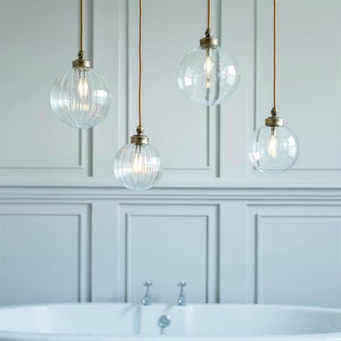 Bathroom Pendant Lights   Mad About The House bathroom pendant light from jim lawrence