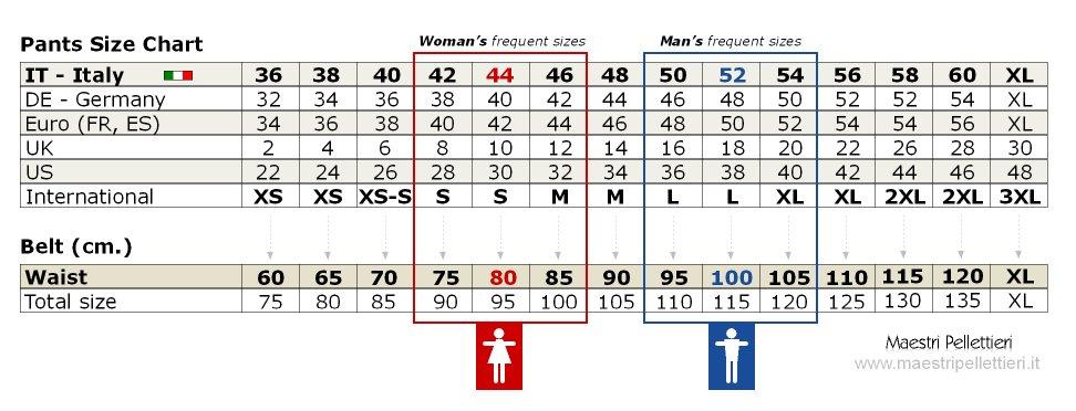 Italian Clothing Size Chart Labzada T Shirt