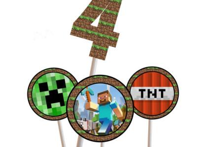 Minecraft Birthday Magical Printable