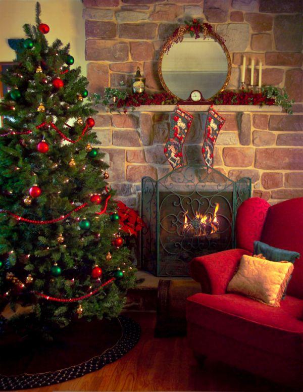 30 Astonishing Old Fashioned Christmas Tree Decorations