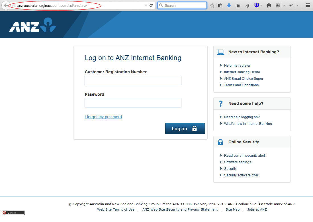 Anz Personal Online Banking