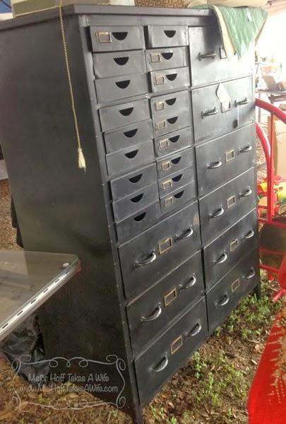Metal filing cabinet Industrial