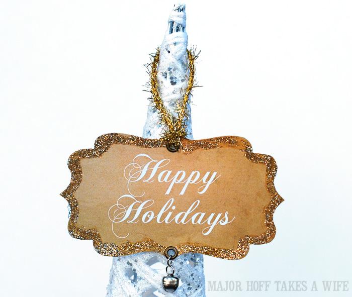 Handmade ornament ideas for Happy Holidays