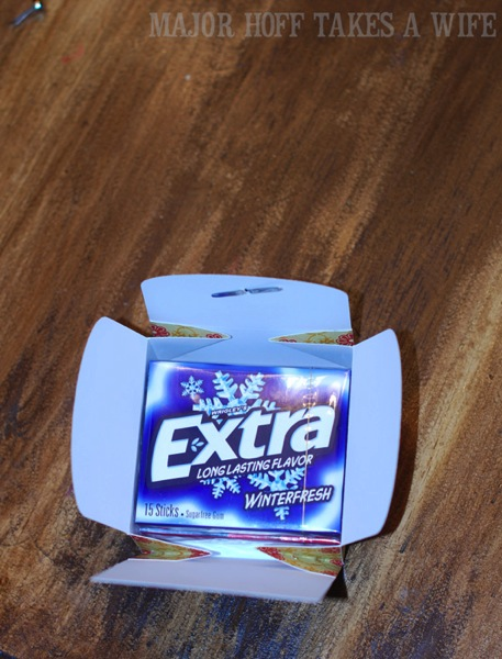 SVG box will hold 2 packs of Extra Gum