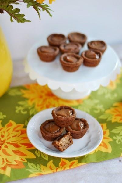 Mini pumpkin pie desserts