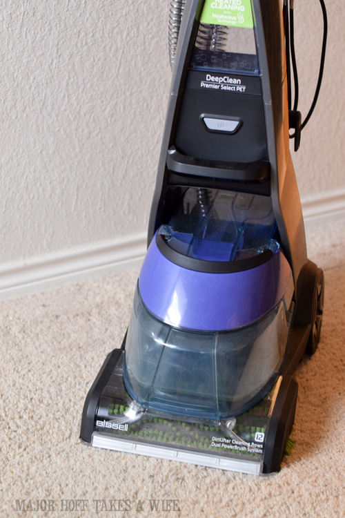 Bissell Steam Cleaner made for homes with pets