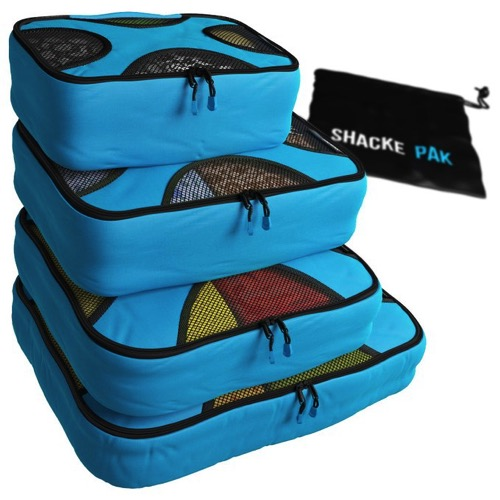 Travel packing bags for luggage