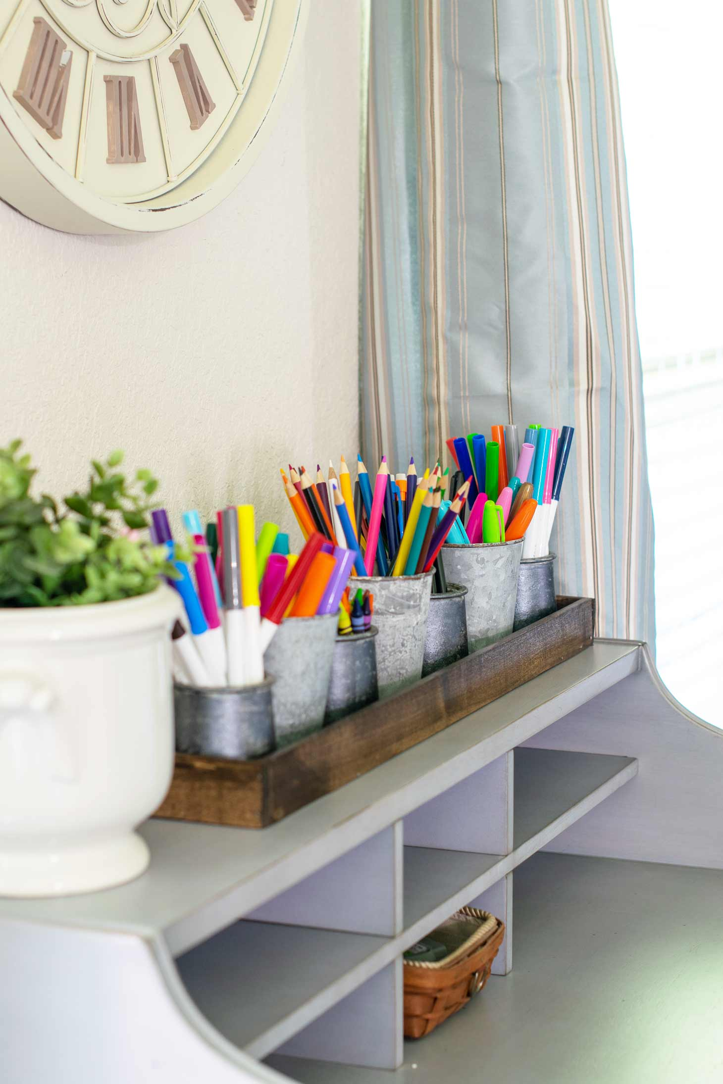 keep students school supplies organized in our jars