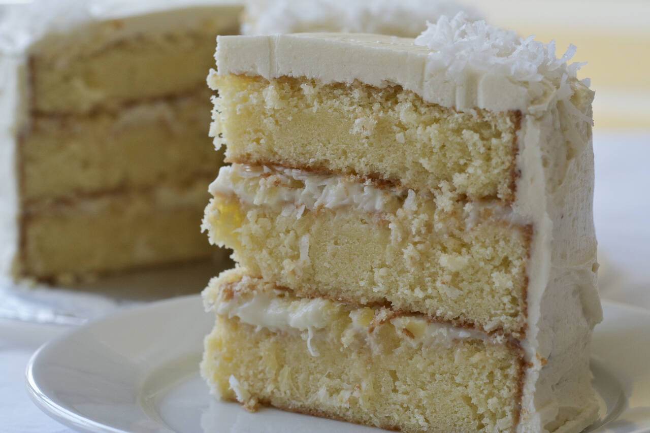 Coconut Pineapple Cake Recipe From Scratch