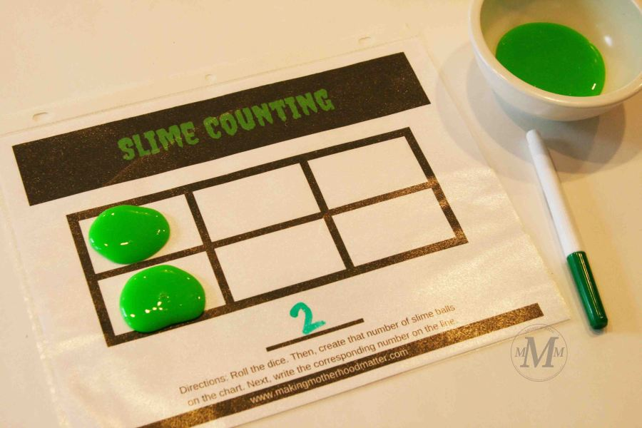 Brilliant Slime Number Games for Kids They ll Beg You to Play   number games for preschoolers