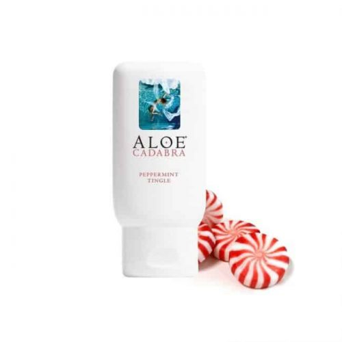 ALOE CADABRA ORGANIC LUBE PEPPERMINT 2.5 OZ