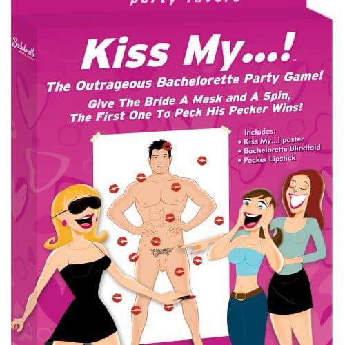 BACHELORETTE KISS MY… PARTY GAME