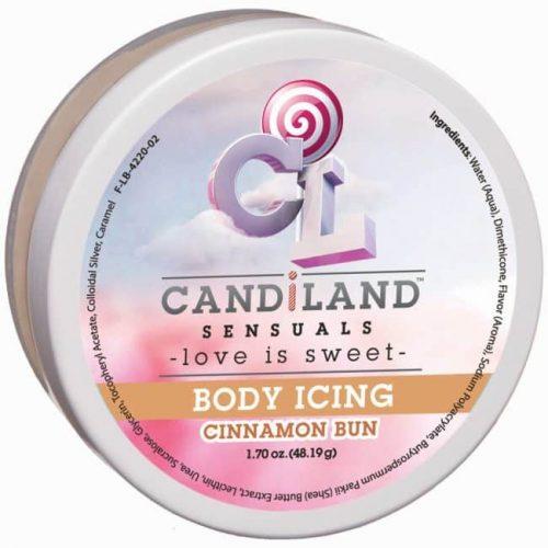 (D) CANDILAND CINNAMON BUN BOD ICING