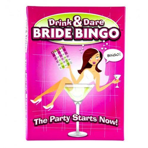 DRINK & DARE BRIDE BINGO