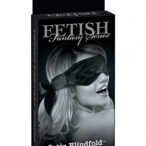 FETISH FANTASY LIMITED EDITION SATIN BLINDFOLD BLACK