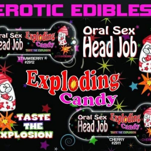 HEAD JOB ORAL SEX CANDY CHERRY PURPLE