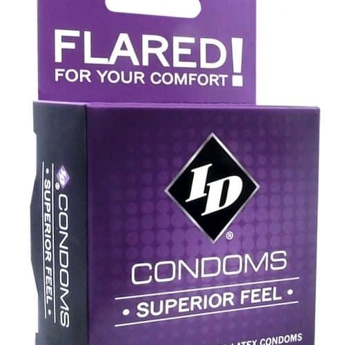 ID SUPERIOR FEEL CONDOM 3PK
