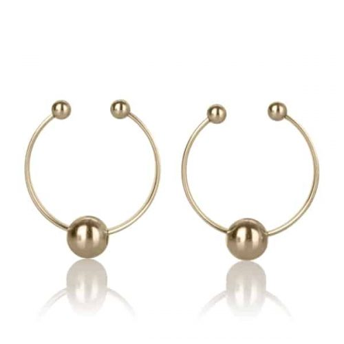NIPPLE PLAY NIPPLE RING-GOLD